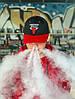 Кепка Chicago Bulls  Черный красный козырек