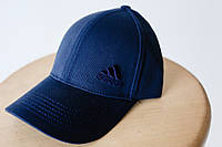 Кепка бейсболка коттон Adidas Синий, фото 1
