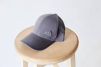 Кепка бейсболка коттон Adidas Серый, фото 1