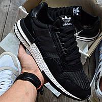 Мужские кроссовки Adidas Commonwealth ZX 500 RM Black/White