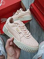 Женские кроссовки Puma Cali Pink