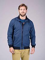 Мужская куртка ветровка Volcano J-Colbert синяя