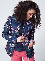 J - NISSA весенняя цветочная куртка для женщин
