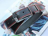 Мужской ремень для джинсов прошитый Tommy Hilfiger black, фото 1