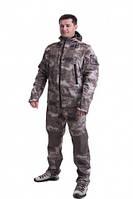 Демисезонный костюм Carpe Diem Scout Softshell A-TACS 52 Камуфляж (74062052)