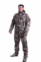 Демисезонный костюм Carpe Diem Scout Softshell A-TACS 54 Камуфляж (74062054)