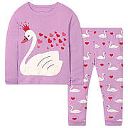 Пижама Лебедь Wibbly pigbaby