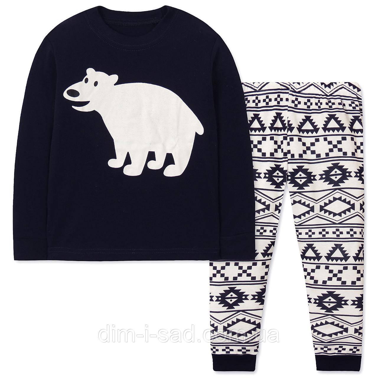 Пижама Белый мишка Wibbly pigbaby