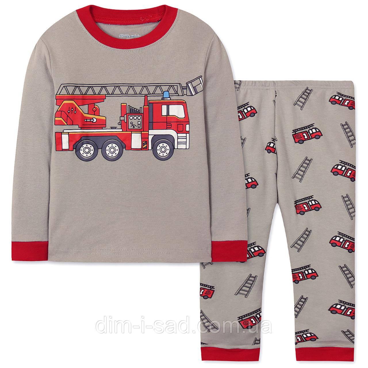 Пижама Пожарная машина Wibbly pigbaby на рост 90см