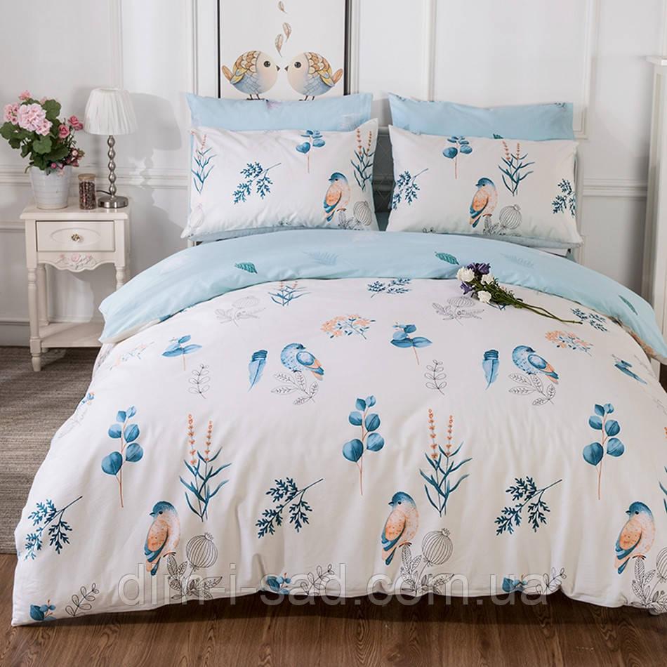 Комплект постельного белья Голубая птица (полуторный) Berni