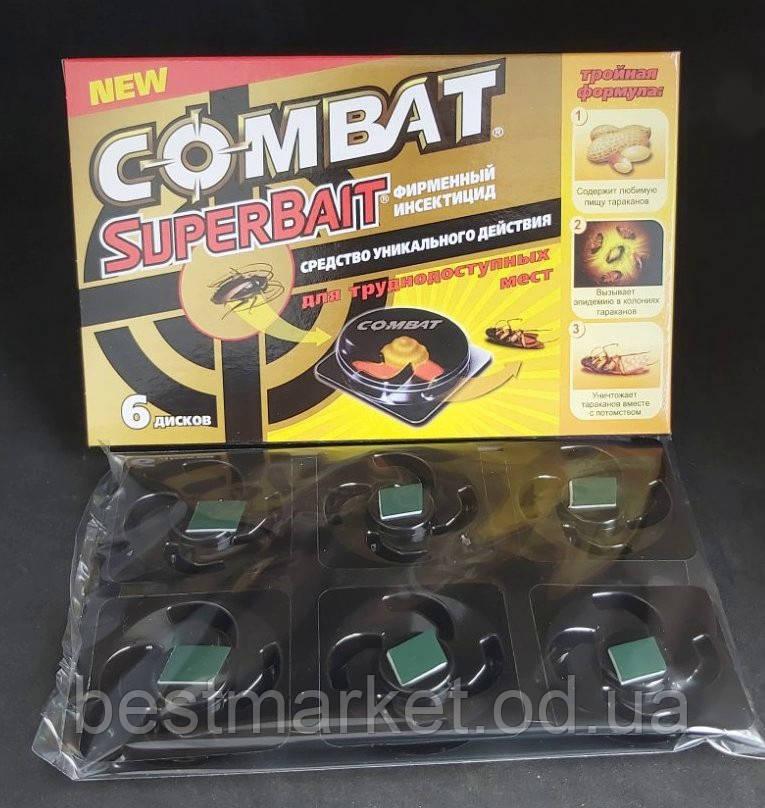 Пастка для Тарганів Combat SuperBait 6 Дисків