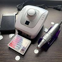 Аппарат для маникюра DM-206 (белый с серебром)