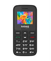 "Мобильный телефон Sigma mobile Comfort 50 Hit 2020 Dual Sim Black (4827798120910); 1.77"" (320х240) TN / клавиатурный моноблок / Spreadtrum SC6531E /"