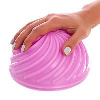Полусфера массажная балансировочная Balance Kit розовая FI-1583