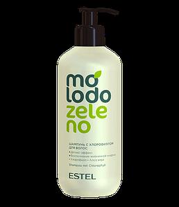 Шампунь с хлорофиллом для волос Molodo Zeleno Estel Professional 400 мл