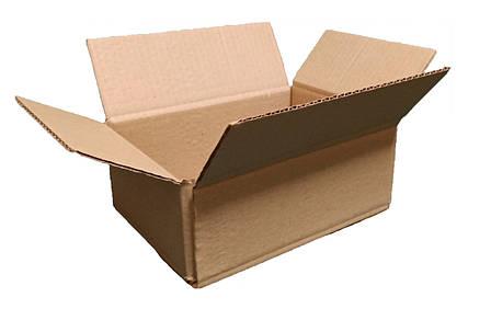 Гофроящики 240*170*100 Картонная коробка вместимостью до 1 кг фактического или объемного веса 240*170*100, фото 2