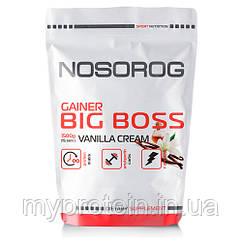 Nosorog Big Boss Gainer ваниль, 1500 гр