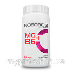 Nosorig Mg+B6, 60 капсул