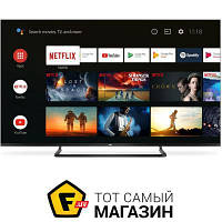 Серый LED телевизор для гостиной 55 Smart TV — TCL 55EP680 — c 2 x USB, 3 x HDMI, Bluetooth, cлот PCMCIA, Ethernet, Wi-Fi, доступ к сети интернет,