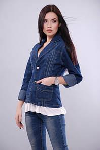 KSU-KSU Джинсовая куртка KSU-KSU 30104-35