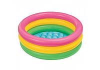 Надувной детский бассейн INTEX 57402 ( надувное дно)