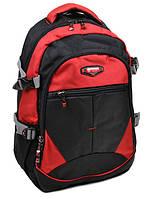 Рюкзак мужской городской цвет красный материал нейлон 45*32*19см Power In Eavas (9612 red)