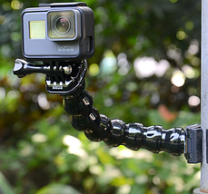 "Крепление ""Челюсти"" Kingma для GoPro, SJCAM, Xiaomi 32 cm, фото 2"