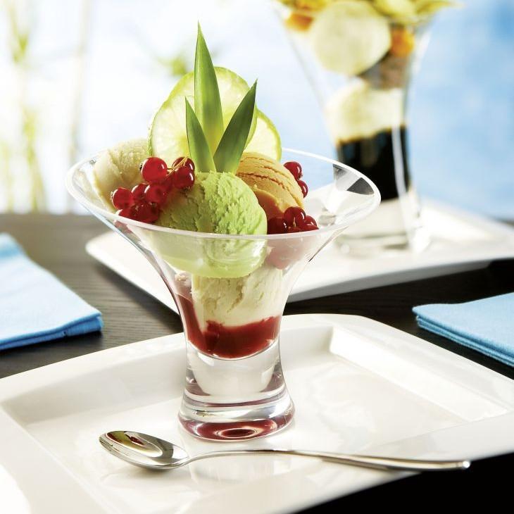 Креманка стеклянная на ножке для подачи салатов Arcoroc Jazzed 350 мл (Н4368)