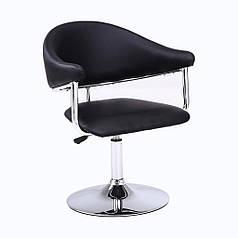 Барний стілець хокер Bonro B-622 black