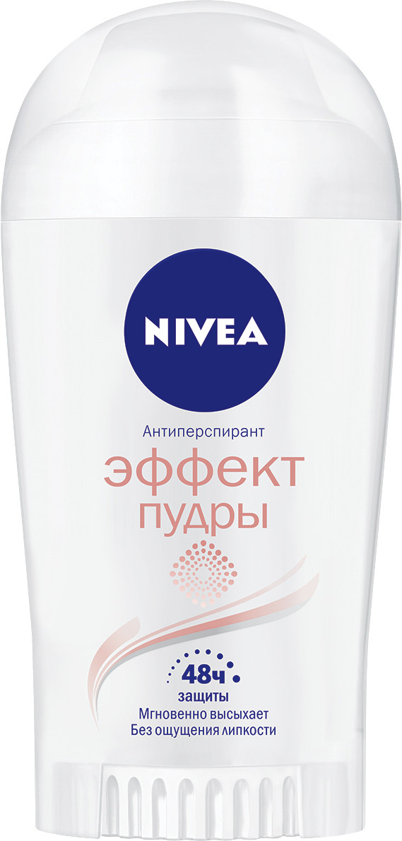 "Дезодорант-стик женский Nivea ""Эффект пудры"" (40мл.)"