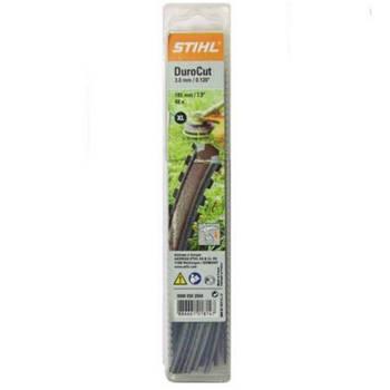 Косильная струна Stihl 2,0 мм х 195 мм зубчатая 20 шт. (00009303503)