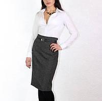 Офисная юбка из твида А