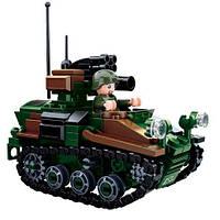 Конструктор Sluban Военный танк 2в1 m38-b0750 245 деталей
