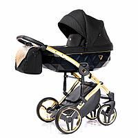 Всесезонная детская коляска 2 в 1 для новорожденных универсальная Junama Onyx 03 J-O-03 Черный
