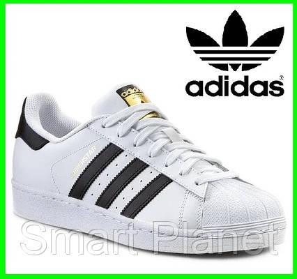 Кроссовки Adidas Superstar Белые Адидас Суперстар (размеры: 43) Видео Обзор, фото 2