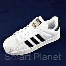 Кроссовки Adidas Superstar Белые Адидас Суперстар (размеры: 43) Видео Обзор, фото 3