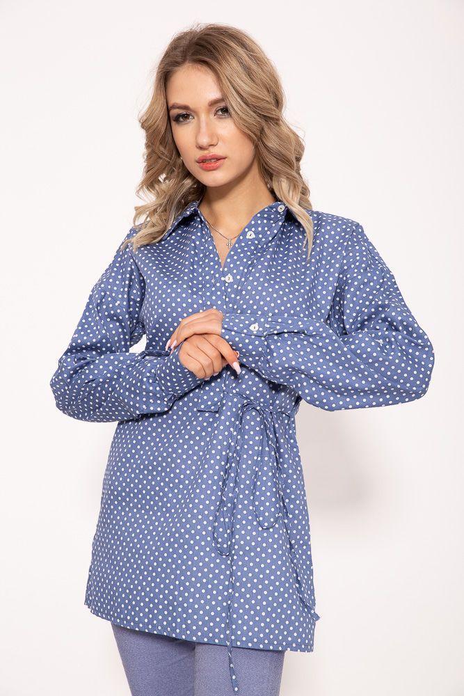 Блузка женская 115R340 цвет Джинс