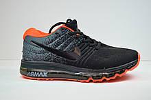 Кросівки чорні з помаранчевим Nike Air Max 2017 (2017 - 6)