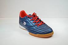 Подростковые футзалки синие с красным Restime 19999