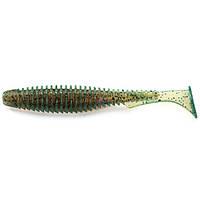 """Силикон FishUp U-Shad 3"""" (9шт), #017 - Motor Oil Pepper (уп)"""