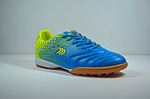 Мужские сороконожки голубые Restime 20619 - 1