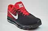 Кросівки чорні з червоним Nike Air Max 2017 (2017 - 1), фото 3