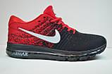 Подростковые и женские кроссовки черные с красным в стиле Air 2017 (2017 - 1), фото 2