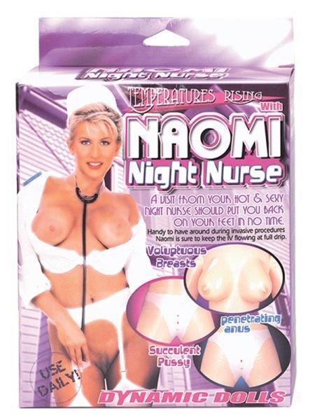 Секс кукла Naomi Night Nurse with uniform