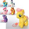 Лошадь MP 4001 (24шт) д/у, пони, музыка, ходит, двиг.хвостом,6видов,  на бат-ке, в кульке, 25-20-9с