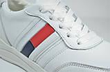 Шкіряні кросівки білі Multi-Shoes Tomas, фото 2