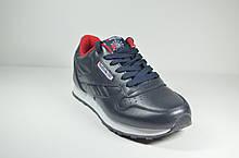 Подростковые и женские кроссовки синие в стиле Classic (7168 - 20)