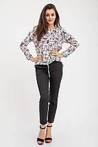 Блузка женская 115R286S цвет Бело-черный, фото 3