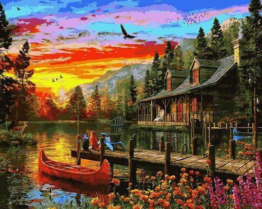VP1157 Раскраска по номерам Сказочное место, фото 2