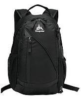 Городской рюкзак 20 л One polar W1391 черный оранжевый лучший дизайн, фото 1